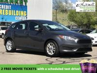 CarFax 1-Owner, This 2016 Ford Focus SE will sell fast
