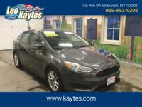 Ford Certified! 2016 Ford Focus SE in Magnetic