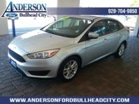 Ingot Silver 2016 Ford Focus SE FWD 6-Speed Automatic