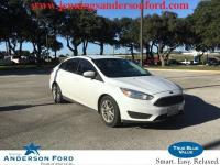Certified. Oxford White 2016 Ford Focus SE FWD 6-Speed