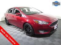 2016 Ford Focus SE with a 2.0L Engine. Leather