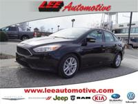 Look no further this 2016 Ford Focus SE 4dr Sedan is