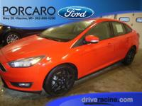 Options:  2016 Ford Focus Se|Race Red|Charcoal Black