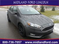 Options:  2016 Ford Focus Se|Gray|Rear-View Camera!