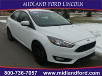 Options:  2016 Ford Focus Se|White|Rear-View Camera!