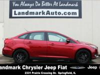 2016 Ford Focus SE Red Recent Arrival! Clean CARFAX.
