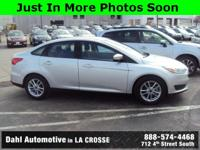 Recent Arrival! 2016 Ford Focus SE CARFAX One-Owner.