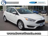 Accident Free Carfax!! 2016 Ford Focus SE, 4D Sedan,
