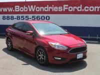 CARFAX One-Owner. Clean CARFAX. Ruby Red Metallic