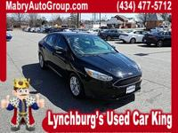 CARFAX One-Owner. Shadow Black 2016 Ford Focus SE FWD