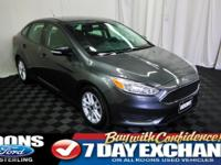 **BLUETOOTH, CRUISE, BACKUP CAMERA** 2016 Focus