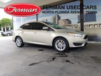Clean CARFAX. Tectonic 2016 Ford Focus SE FWD Automatic