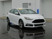 New Price! This 2016 Ford Focus ST in White features: