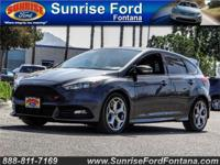 Make the most of every mile in our 2016 Ford Focus ST