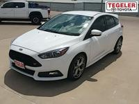 White 2016 Ford Focus ST FWD 6-Speed Manual EcoBoost