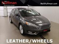 New Price! Stealth Gray 2016 Ford Focus Titanium FWD