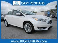 This 2016 Ford Focus Includes. ONE OWNER, BLUETOOTH