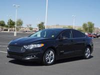This 2016 Ford Fusion Hybrid SE is complete with