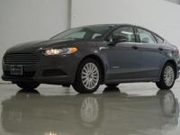 2016 Ford Fusion Hybrid SE in Magnetic, This Fusion