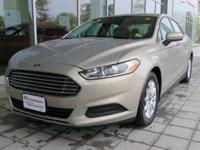 2016 Ford Fusion S 2.5L iVCT FWD Gold 6-Speed