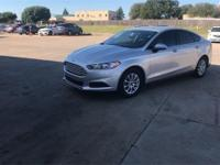 2016 Ford Fusion S FWD 6-Speed Automatic 2.5L iVCT