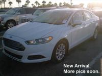**UNIVERSITY MITSUBISHI** 2016 Ford Fusion with 6-Speed