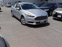 Carfax One Owner and CLEAN CARFAX. Fusion S, 4D Sedan,
