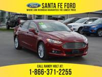 *2016 Ford Fusion SE - *Sedan - I4 1.5L Engine - keypad