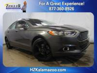 Recent Arrival! 2016 Ford Fusion SE Magnetic Gray
