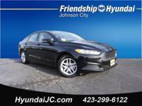 CARFAX One-Owner. Clean CARFAX. Black 2016 Ford Fusion