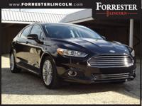 2016 Ford Fusion SE, Shadow Black, 1-Owner, Accident