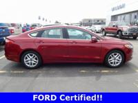 Ford Certified 2016 Fusion SE w/ Luxury Package!! New
