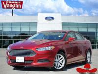 CARFAX One-Owner. Ruby Red Metallic 2016 Ford Fusion SE