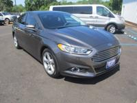 CARFAX One-Owner. Magnetic 2016 Ford Fusion SE FWD