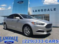 CARFAX One-Owner. Ingot Silver 2016 Ford Fusion SE