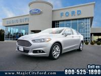 This 2016 Ford Fusion SE includes a backup camera, a