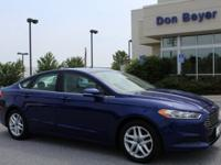 6-Speed Automatic. CARFAX One-Owner. Blue Metallic 2016