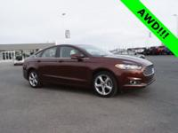 Bronze 2016 Ford Fusion SE AWD 6-Speed Automatic