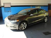 Gray 2016 Ford Fusion SE AWD 6-Speed Automatic EcoBoost