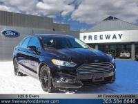 Shadow Black 2016 Ford Fusion SE AWD 6-Speed Automatic