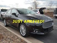 Introducing the 2016 Ford Fusion! A great car and a