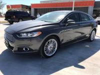 We are excited to offer this 2016 Ford Fusion. Only the