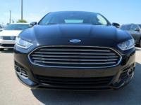 Options:  2016 Ford Fusion Se|Shadow Black/Ebony|V4 2.5