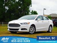 STOKES HONDA CARS OF BEAUFORT. 2016 Ford Fusion White