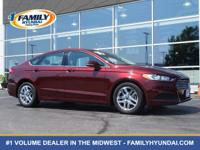 Check out this 2016 Ford Fusion SE. Its Automatic