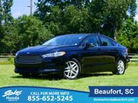 STOKES HONDA CARS OF BEAUFORT. 2016 Ford Fusion Black