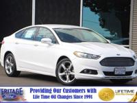 Boasts 34 Highway MPG and 22 City MPG! This Ford FUSION
