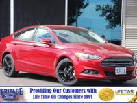 Delivers 34 Highway MPG and 22 City MPG! This Ford