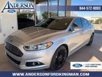 Certified. Ingot Silver 2016 Ford Fusion SE FWD 6-Speed