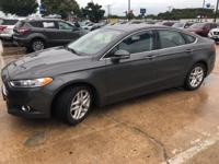Recent Arrival! Ford Fusion SE Gray FWD Odometer is